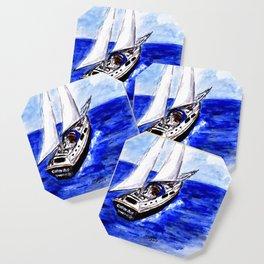 Sailing Away Coaster