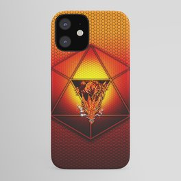 d20 Lucky Dragon iPhone Case