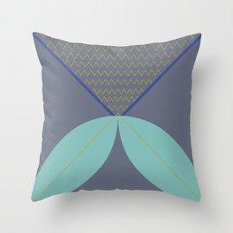 Never ending fish 1 part 2 Throw Pillow