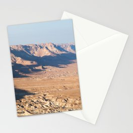 View from Masada, Israel Stationery Cards