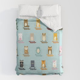 Alphabet Duvet Cover