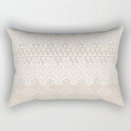 Akra in Tan Rectangular Pillow