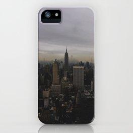 New York Gloomberg iPhone Case