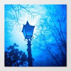 The Blue Lamp Canvas Print