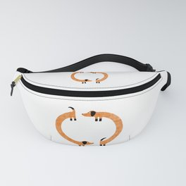 Sausage Dogs Fanny Pack