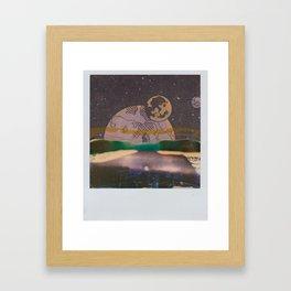 Astrotravellin' no. 1 Framed Art Print