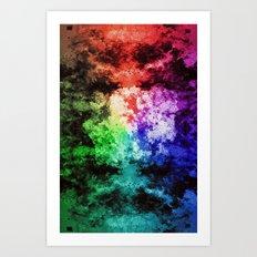 Inner Battle ~ Analog Zine Art Print