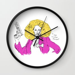 Is she country enough? Wall Clock