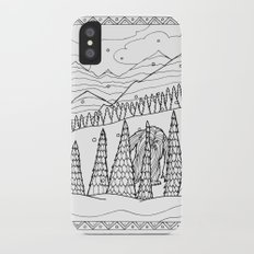 Yeti from the Bestiary Coloring Book iPhone X Slim Case