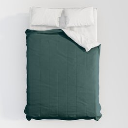 Palette . Dark blue-green Comforters