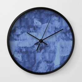 Minimalist watercolor and fashion I Wall Clock