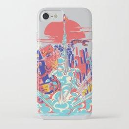 Smash! Zap!! Zooom!! - Generic Spacecraft iPhone Case