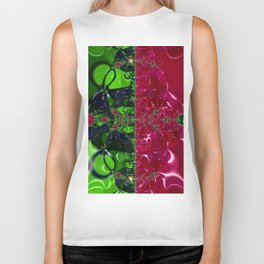 Boughs of Holly Biker Tank