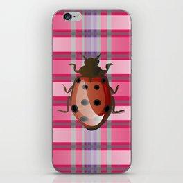 Pink Jersey's Ladybug iPhone Skin