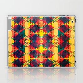 Green Abstract Diamond Laptop & iPad Skin