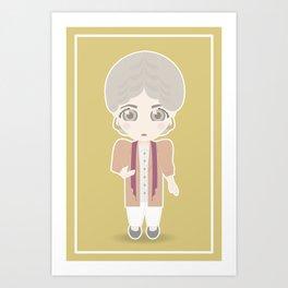 Girls in their Golden Years - Dorothy Art Print
