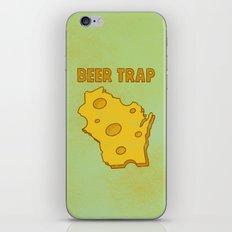 Beer Trap iPhone & iPod Skin