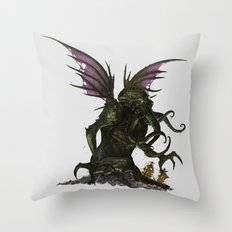 Elder God Throw Pillow