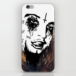 Stupid Face iPhone Skin