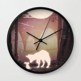 FRIENDS - FOX/RABBIT Wall Clock