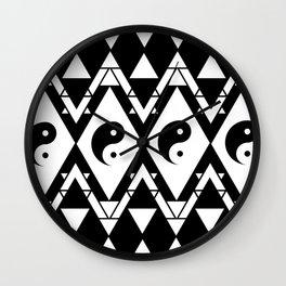 Prismatic Yin & Yang Wall Clock
