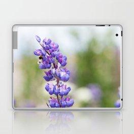 Bumblebee and lupine Laptop & iPad Skin