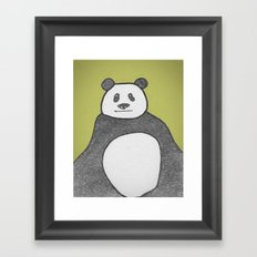 Panda Mountain Framed Art Print