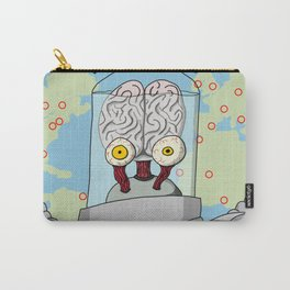 Brains From Space Carry-All Pouch