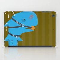 bdsm iPad Cases featuring BDSM Whale by Jamee Nall