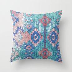 jemez in opal Throw Pillow