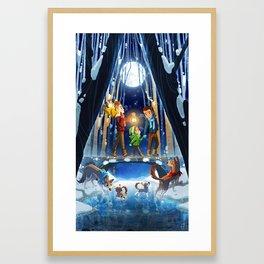 The Crossing - Until Midnight Framed Art Print