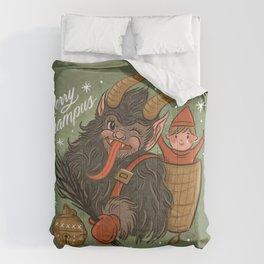 Merry Krampus Comforters