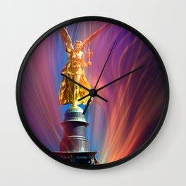 Angel of peace Wall Clock