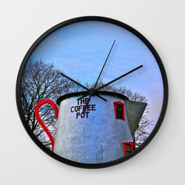 The Coffee Pot Wall Clock