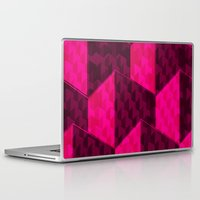 hexagon Laptop & iPad Skins featuring HEXAGON by xalomako