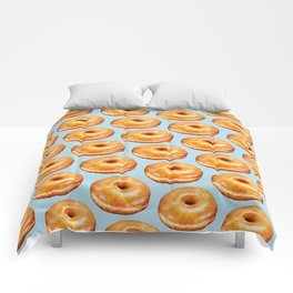 Donut Pattern - Glazed Comforters