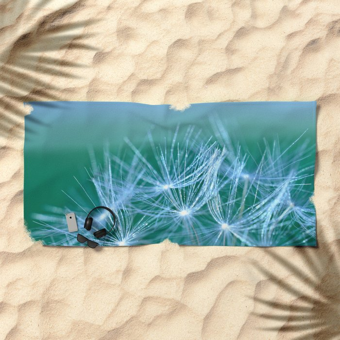 Diana's Dandelion  Beach Towel