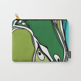 Green dive plongeon vers Carry-All Pouch