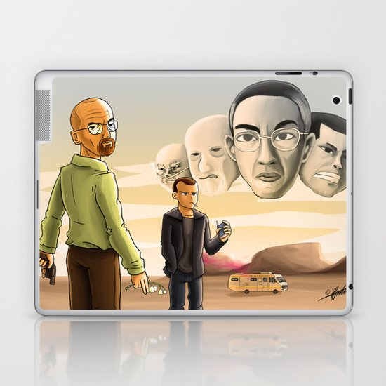 Breaking Bad: Walter's Adversaries  Laptop & iPad Skin