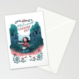 What Would Grandma Do? Stationery Cards