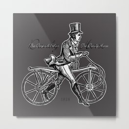 The Dandy Horse - The Original Biker Metal Print