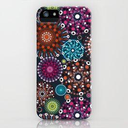 Mandala Dots iPhone Case