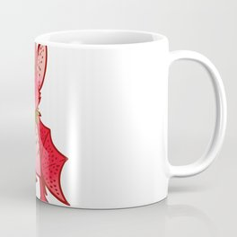 Fruit   strawberry bat, Fruits Coffee Mug