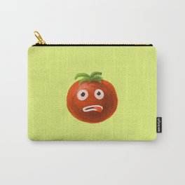 Funny Cartoon Tomato Carry-All Pouch
