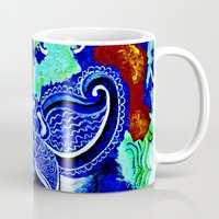 hawaii Mugs featuring Hawaii by KASZANDRA