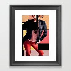 Blocked Sun Framed Art Print