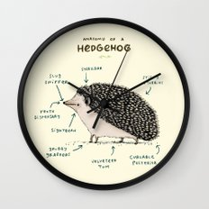 Anatomy of a Hedgehog Wall Clock