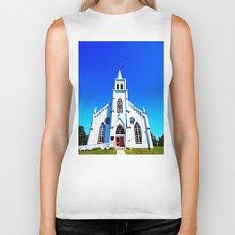 White Church Biker Tank