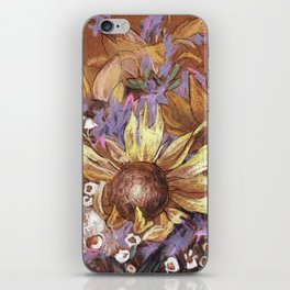 Sunflower coctail iPhone Skin