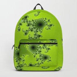 Green Fractal Backpack